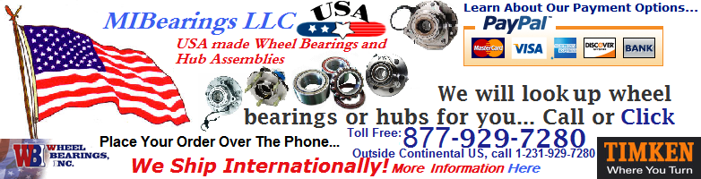 MIBearings LLC - Wheel Bearing Units, Hub Bearings, and Assemblies