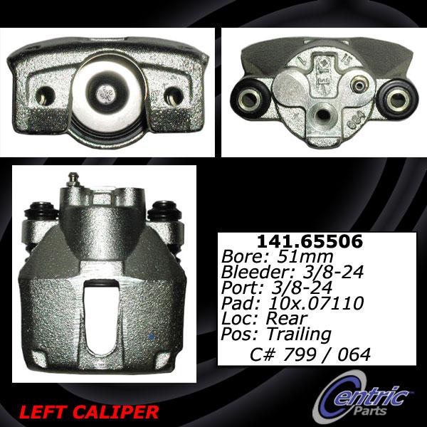 Centric 141.65509 Semi Loaded Caliper