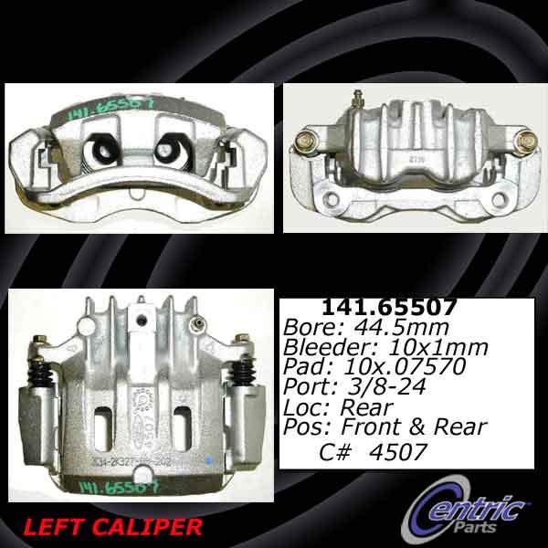 Centric 141.65511 Semi Loaded Caliper
