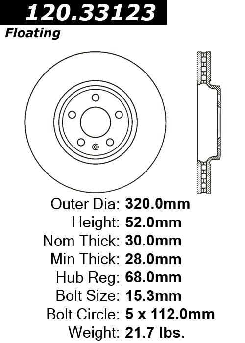 ACDelco 17D480M Professional Semi-Metallic Front Disc Brake Pad Set