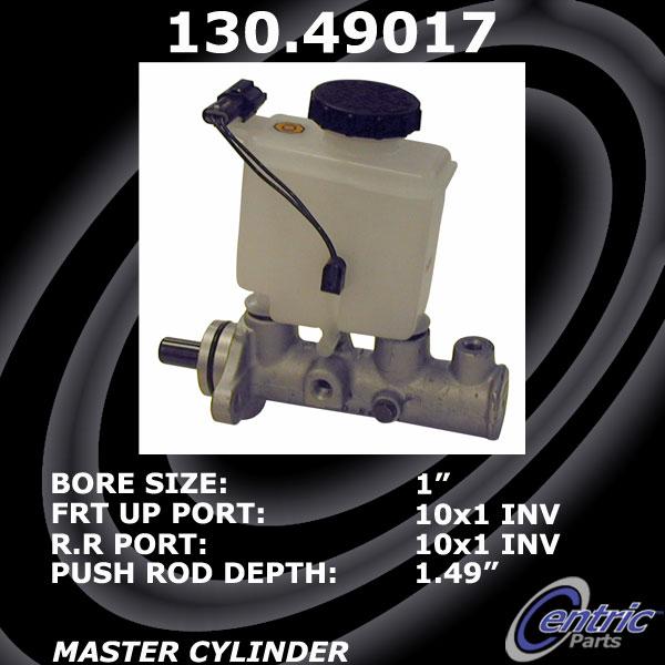 Centric 130.58006 Premium Brake Master Cyl