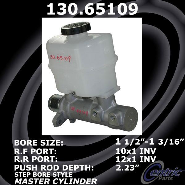 Preferred Centric 130.44744 Brake Master Cylinder-Premium Master Cylinder